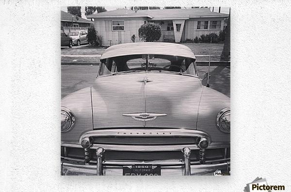 1950 Chevy   Metal print