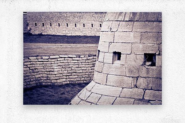 Fort Frederick At Rmc  Metal print
