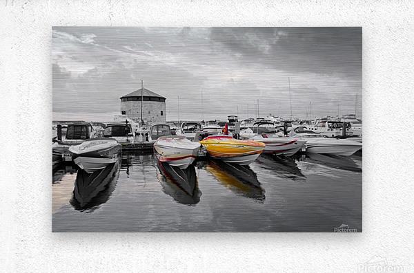 Cigarette Boats  Metal print