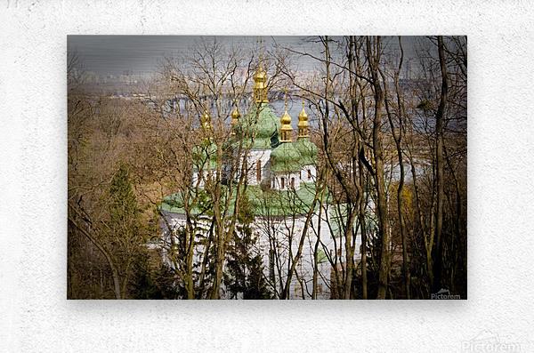 Eastern Orthodox Church in Kiev  Metal print