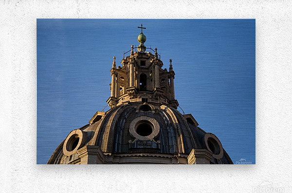 Italy with love  Metal print