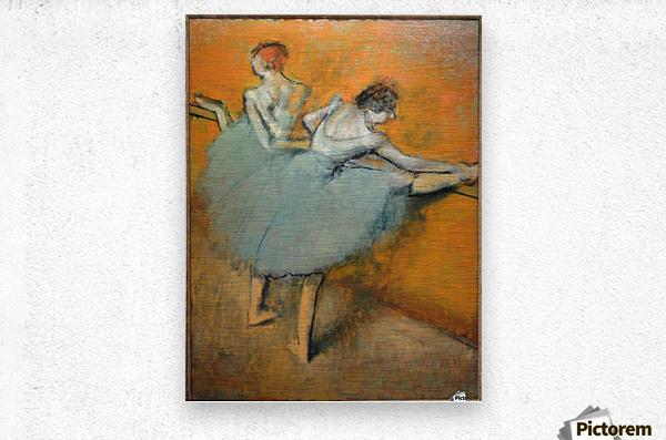 Dancers at the Barre  Metal print