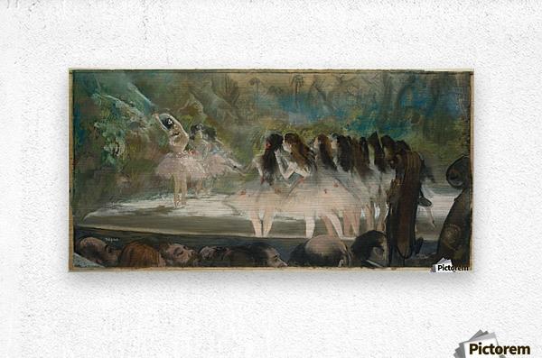 Ballet at the Paris Opera  Metal print