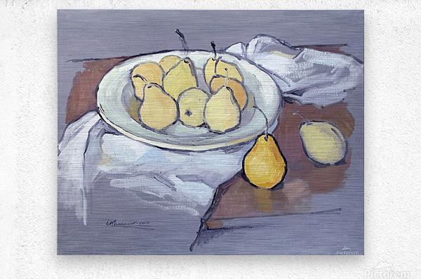 Pears-2  Metal print