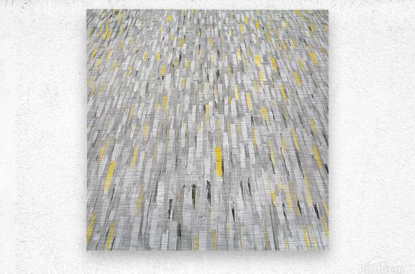 Rain of light  Metal print