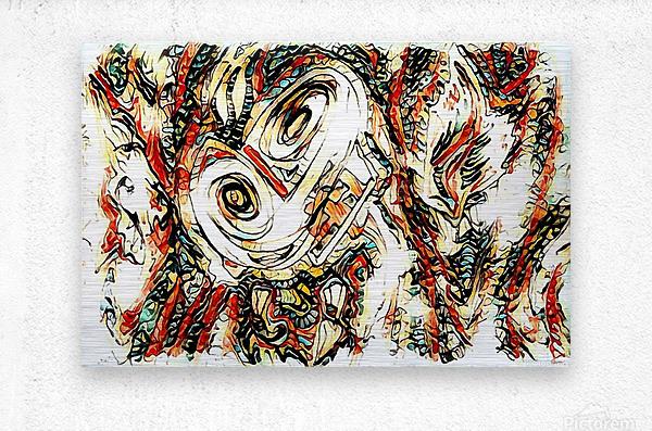 vafle  Metal print
