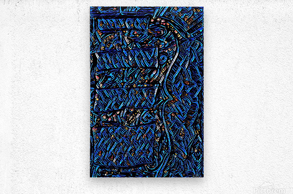 draow  Metal print