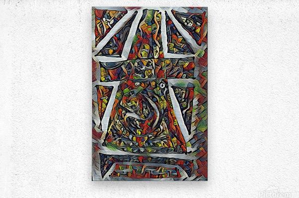 crusirkle  Metal print