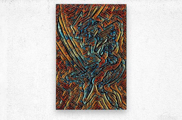 kanighkt   Metal print