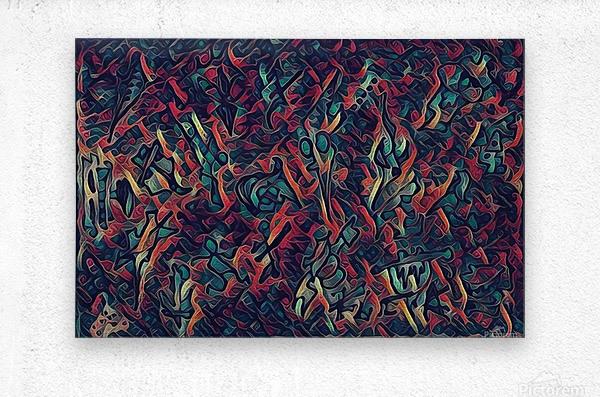munekito  Metal print