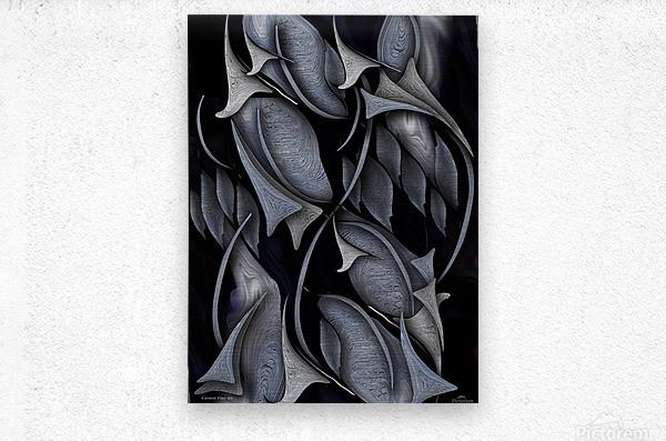 Indestructible Transformation Of Life  Metal print