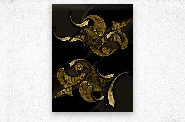 Undefined Compilation - Vegetable  Metal print