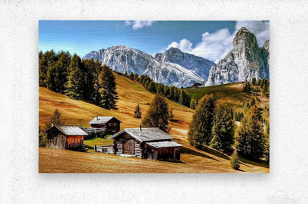 Italy DL_2179605  Metal print