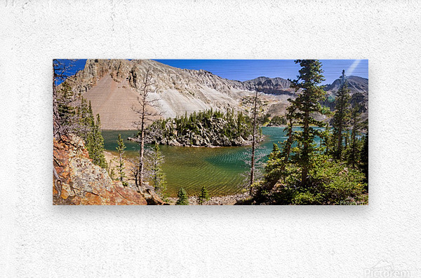 Lake Agnes Colorado   Impression metal