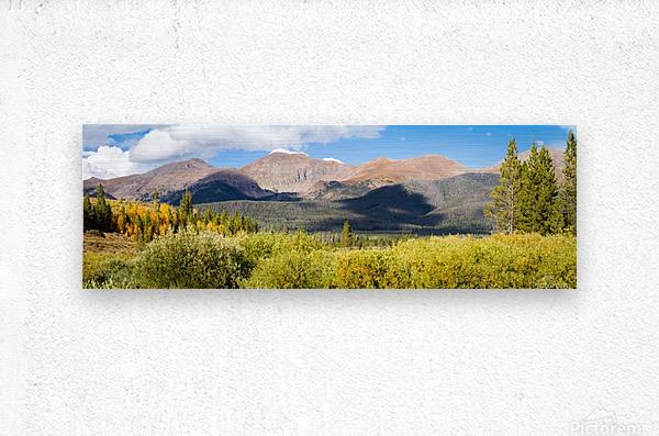 North Park Colorado   Impression metal