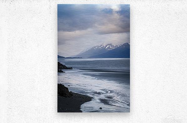 Authentic Alaska  Metal print