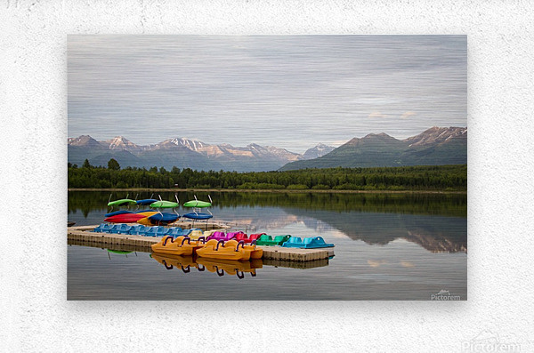 Alaska Lake and Sporting  Impression metal