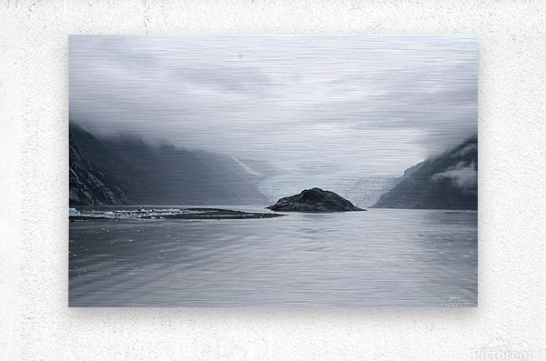 Alaska - Prince William Sound Photo  Metal print