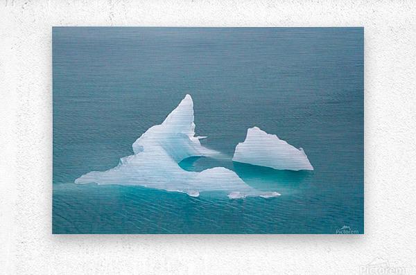 Iceberg Images - Alaska   Impression metal