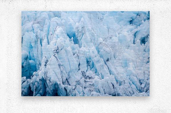 Alaska Gifts - Glacier Photographs  Impression metal