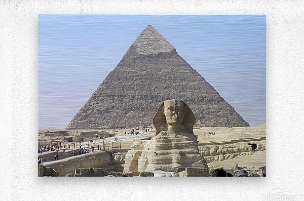 Egypt 3  Metal print
