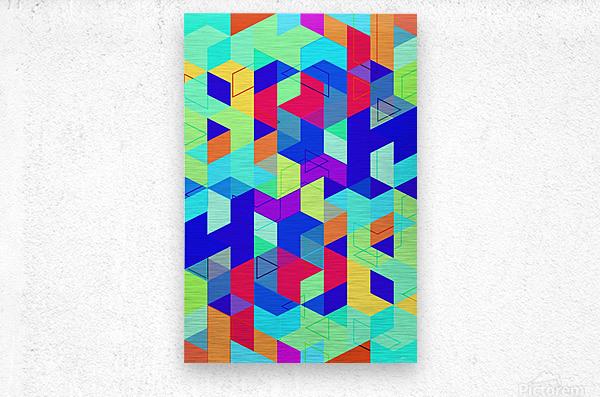 Pattern LXXIX  Metal print