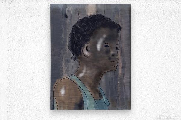 Whitney Plantation Slave Girl 5  Metal print