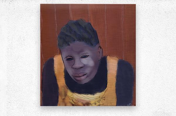 Whitney Plantation Slave Girl 4  Metal print
