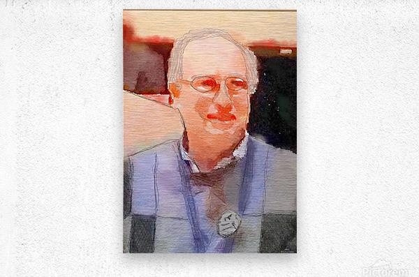 Town Meeting Peter  Metal print