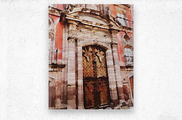 México La Casa del Mayorazgo San Miguel de Allende  Impression metal