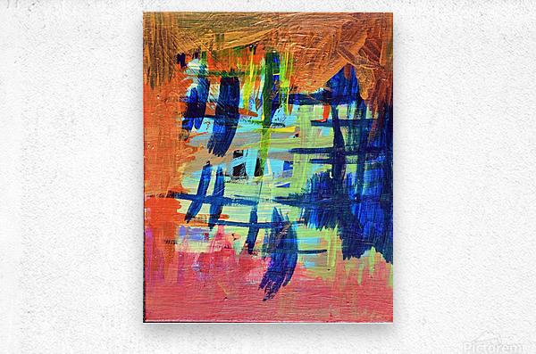 Into the Woods. Katie J.  Metal print