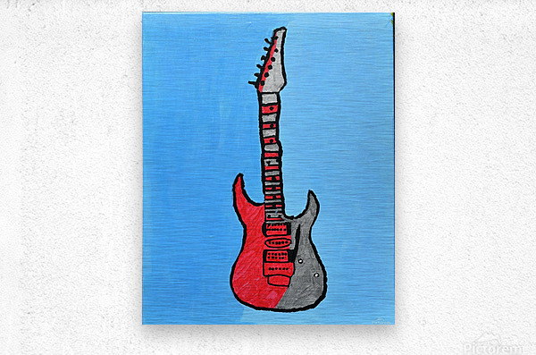 Rock N Roll. Glenn N.  Metal print