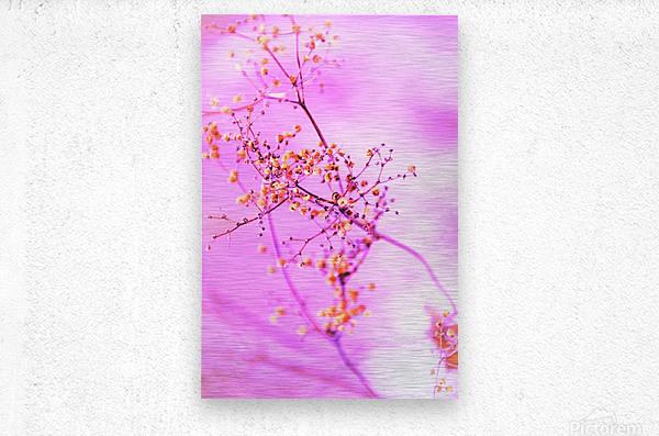 paint it pink   Metal print