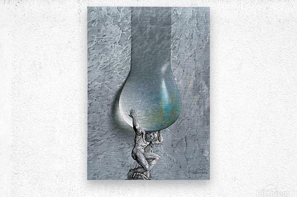 20 Krzysztof Grzondziel  Metal print