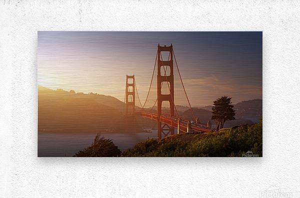 South Golden Gate.  Impression metal