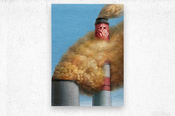 14 Krzysztof Grzondziel  Metal print