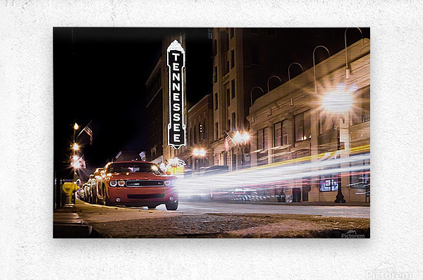 Tennessee Theater Color  Metal print