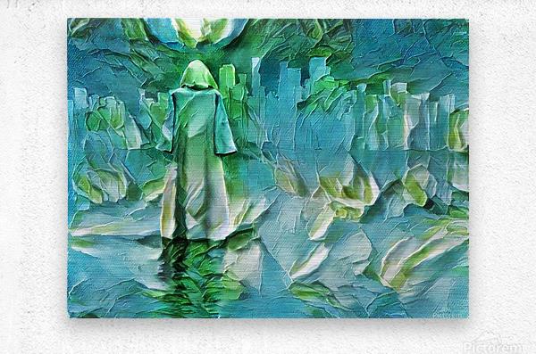 Pilgrim  Metal print
