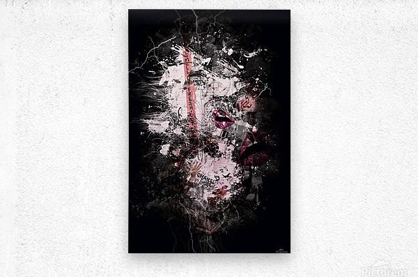I Love Chanel N°388  Metal print