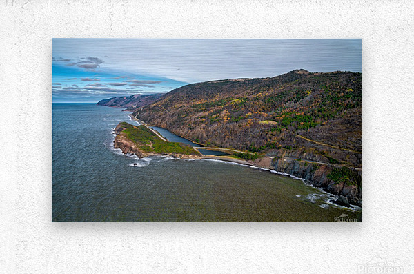 Cabot Trail  Metal print