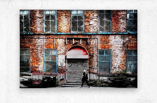 Liverpool City Street  Metal print