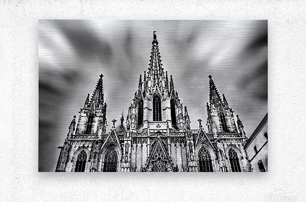 Barcelona Cathedral  Metal print