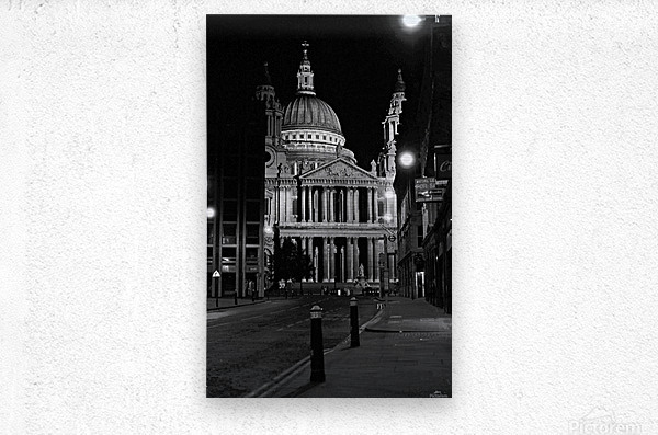 St. Paul's Cathedral London  Metal print