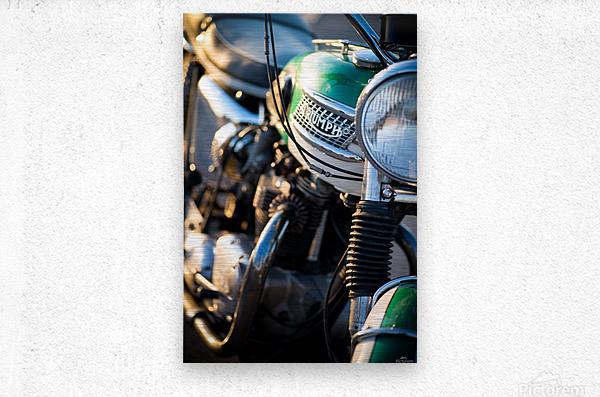 1964 Bike  Metal print