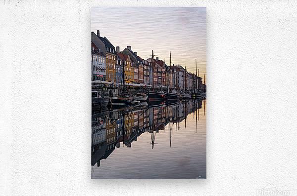 COPENHAGEN 02  Metal print