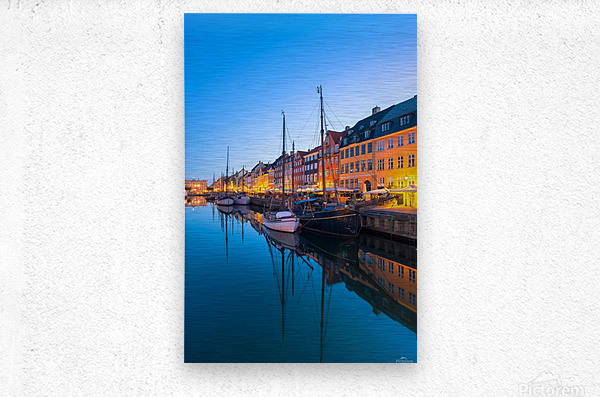 COPENHAGEN 07  Metal print