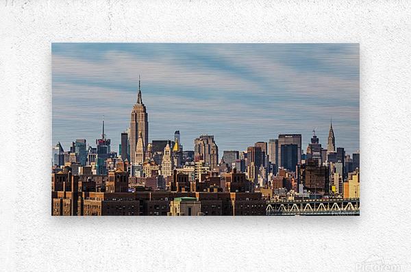 NEW YORK CITY 21  Metal print