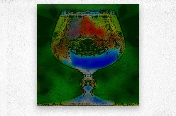 REFRACTION  Metal print