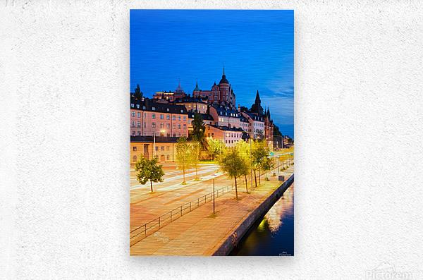 STOCKHOLM 02  Metal print