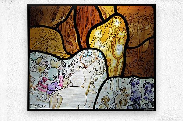 Snow White 1  Metal print